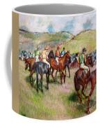 Before The Race Coffee Mug by Edgar Degas