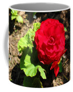 Begonia Flower - Red Coffee Mug
