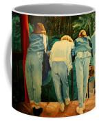 Behind Coffee Mug