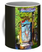 Behind The Blue Door Coffee Mug