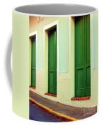 Behind The Green Doors Coffee Mug