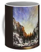 Behind The Mountains  Coffee Mug
