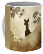 Behind The Rocks At Dawn Coffee Mug