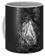 Behind The Tree-bw Coffee Mug