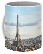Paris Roofs And Tower Coffee Mug