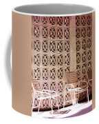 Beige Chairs Palm Springs Coffee Mug