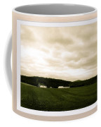 Beige Skies Smiling Above Coffee Mug