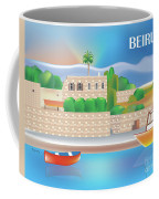Beirut Lebanon Horizontal Scene Coffee Mug