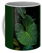 Bejeweled Leaf Coffee Mug