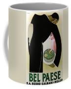 Bel Paese - Melzo, Italy - Vintage Cheese Advertising Poster Coffee Mug