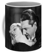 Bela Lugosi  Dracula 1931  Feast On Mina Helen Chandler Coffee Mug