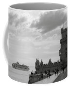 Belem And The Boat Coffee Mug