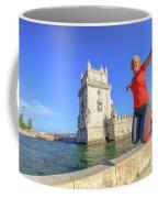 Belem Tower Jumping Coffee Mug