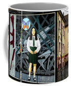 Belfast Mural - Butterfly - Ireland Coffee Mug