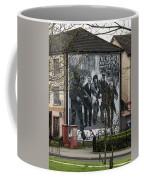 Belfast Mural - Civil Rights Association - Ireland Coffee Mug