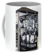 Belfast Mural - Civil Rights - Ireland Coffee Mug