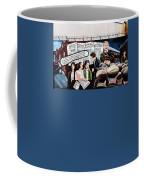 Belfast Mural - Sledge Hammer - Ireland  Coffee Mug