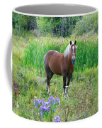 Belgian In Flowers Coffee Mug