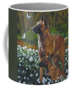 Belgian Malinois With Pup Coffee Mug