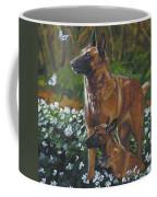 Belgian Malinois With Pup Coffee Mug