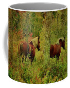 Belgians In Fall Coffee Mug