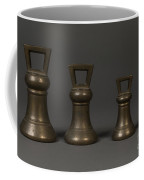 Bell Shaped Avoirdupois Weights Coffee Mug