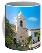 Bell Tower  In Carmel Mission-california  Coffee Mug