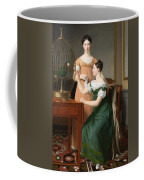 Bella And Hanna. The Eldest Daughters Of M.l. Nathanson Coffee Mug