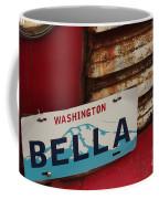 Bella License Plate Coffee Mug