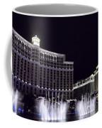 Bellagio And Caesars Palace Coffee Mug