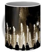 Bellagio Fountain At Night Coffee Mug