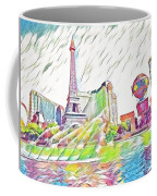 Bellagio Fountains Coffee Mug