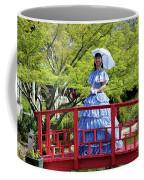 Belle On Red Bridge Coffee Mug