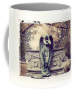 Bellefontaine Angel Polaroid Transfer Coffee Mug by Jane Linders