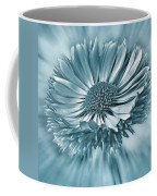 Bellis In Cyan  #flower #flowers Coffee Mug
