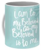 Beloved Coffee Mug by Linda Woods