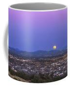 Belt Of Venus And Full Moon Rising Coffee Mug
