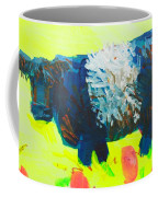 Belted Galloway Cow Looking At You Coffee Mug