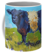 Belted Galloway Cow - The Blue Beltie Coffee Mug