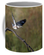 Belted Kingfisher Liftoff Coffee Mug