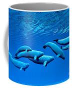Beluga Whale Pod Coffee Mug