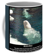 Beluga Whale Poster Coffee Mug