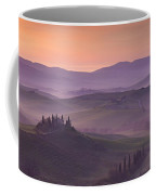 Belvedere And Tuscan Countryside Coffee Mug