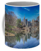 Belvedere Castle And Turtle Pond Coffee Mug