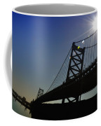 Ben Franklin Bridge 2 Coffee Mug