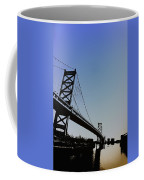 Ben Franklin Bridge Coffee Mug