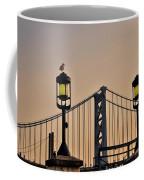 Ben Franklin Bridge In Early Morning Coffee Mug