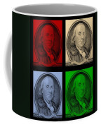 Ben Franklin In Colors Coffee Mug