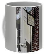 Ben Franklin Rental Sign Coffee Mug