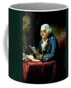 Ben Franklin Coffee Mug by War Is Hell Store